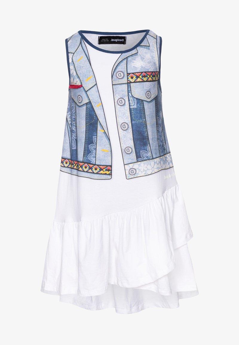 Desigual - CUAUTITLÁ - Vestido ligero - blanco