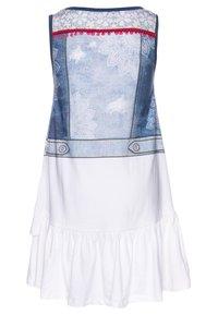 Desigual - CUAUTITLÁ - Vestido ligero - blanco - 1