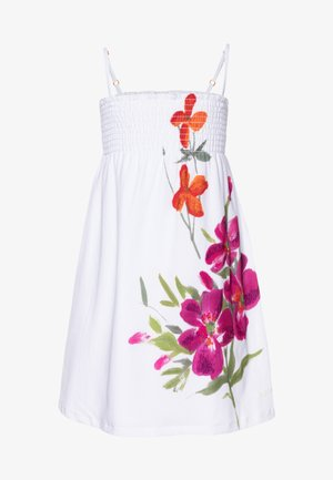 CUAUTLA - Robe d'été - blanco
