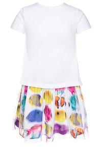 Desigual - XALAPA - Jersey dress - blanco - 1