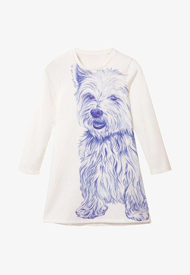 DOG - Gebreide jurk - white