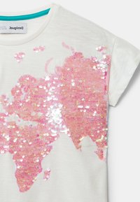 Desigual - TS_COVENTRY - T-shirt imprimé - white - 3