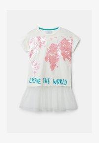 Desigual - TS_COVENTRY - T-shirt imprimé - white - 1
