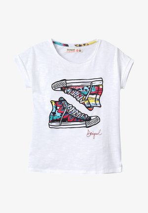 TEXAS - T-shirts print - white