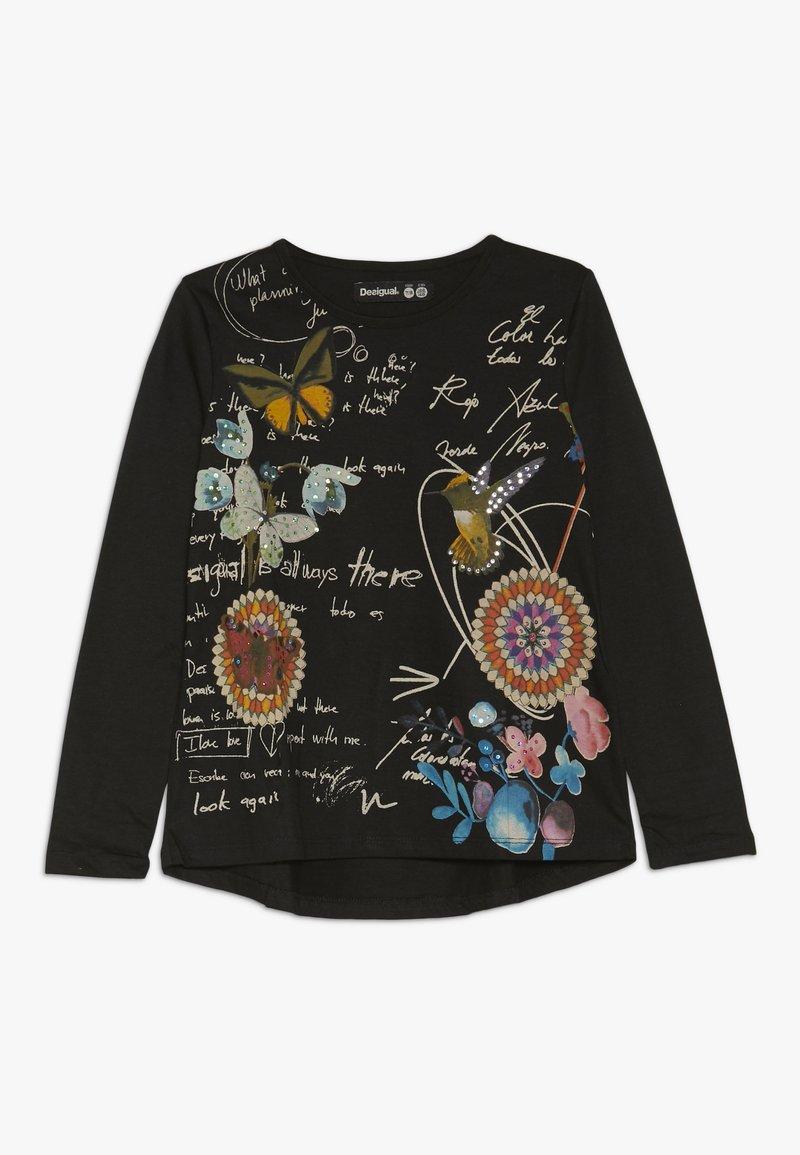 Desigual - READING - Långärmad tröja - black