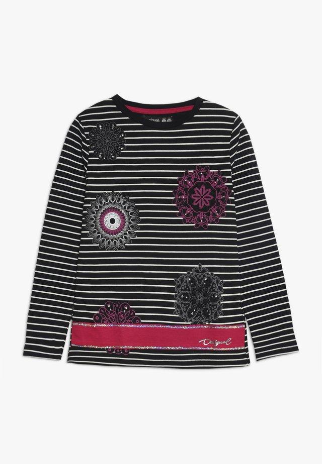 RHODE ISLAND - Camiseta de manga larga - black