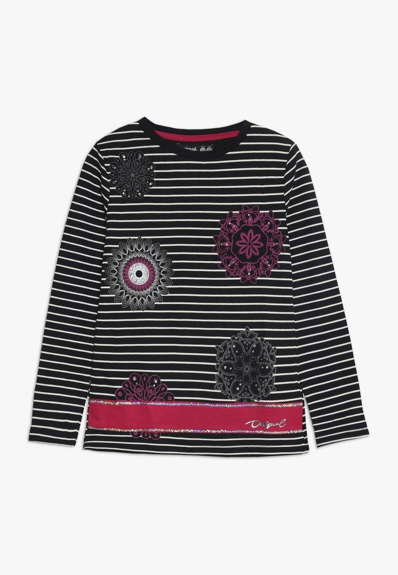 Desigual - RHODE ISLAND - Bluzka z długim rękawem - black