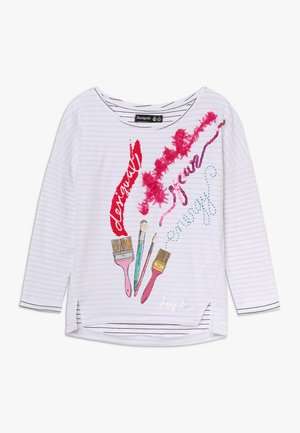 NEWCASTLE - Langærmede T-shirts - blanco