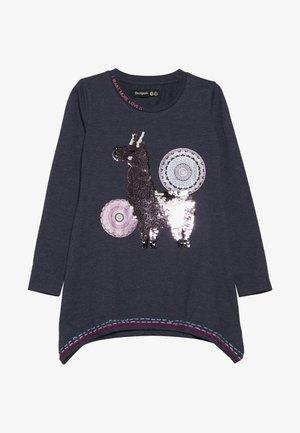 NICOLAS - Langærmede T-shirts - gris oscuro