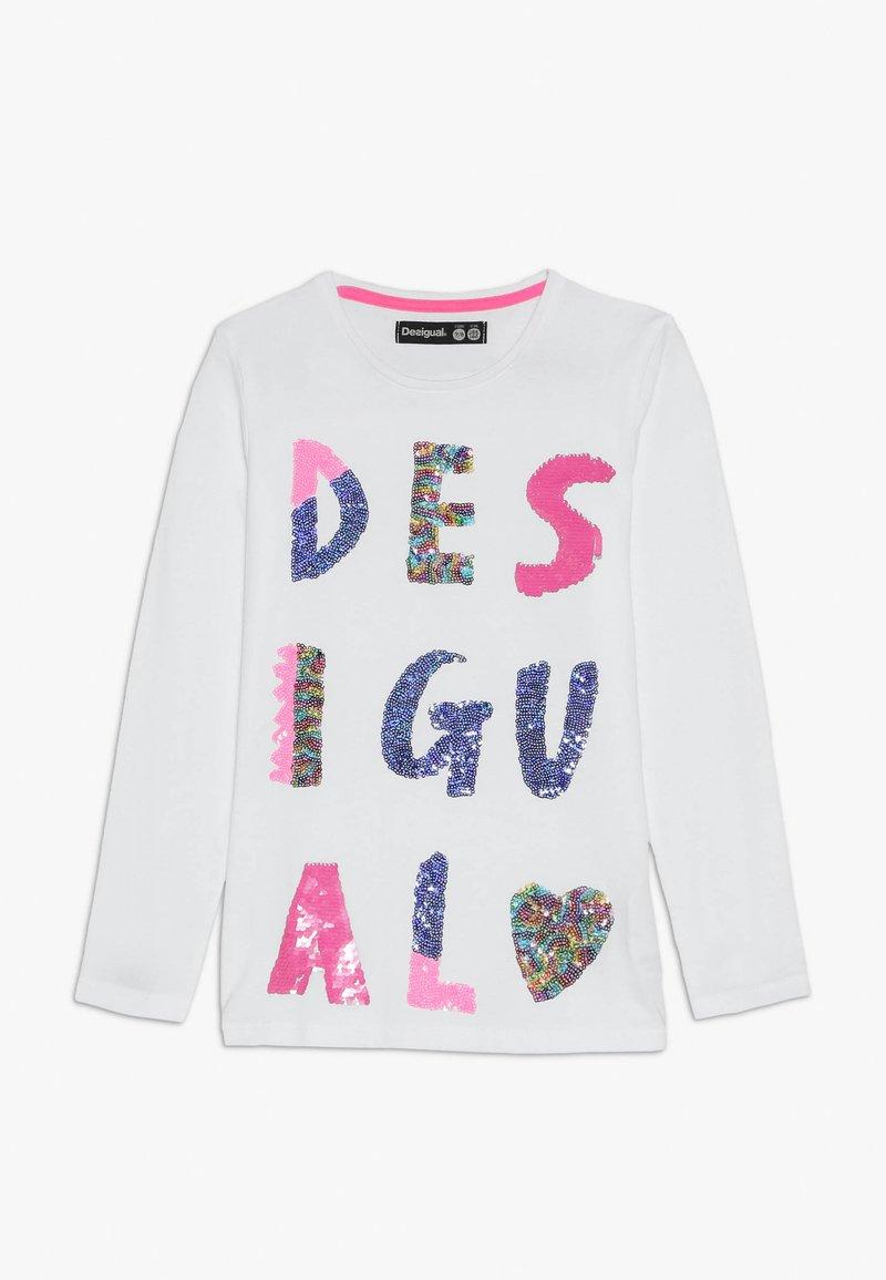 Desigual - SOUTHENDONSEA - Long sleeved top - blanco