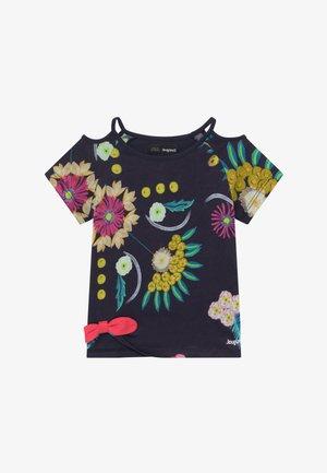 TENNESSEE - Print T-shirt - navy
