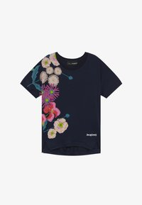 Desigual - RHODE ISLAND  - Print T-shirt - navy - 2