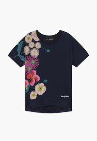 Desigual - RHODE ISLAND  - Print T-shirt - navy - 0