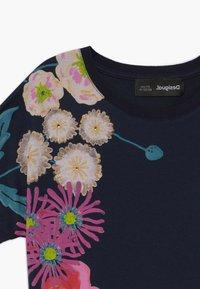 Desigual - RHODE ISLAND  - Print T-shirt - navy - 3