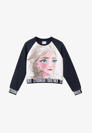 DISNEY FROZEN - Sweatshirt - blue