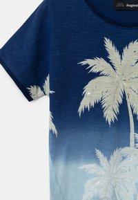 Desigual - EASTBOURNE - T-shirt print - blue - 2