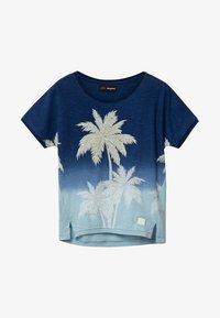 Desigual - EASTBOURNE - T-shirt print - blue - 0