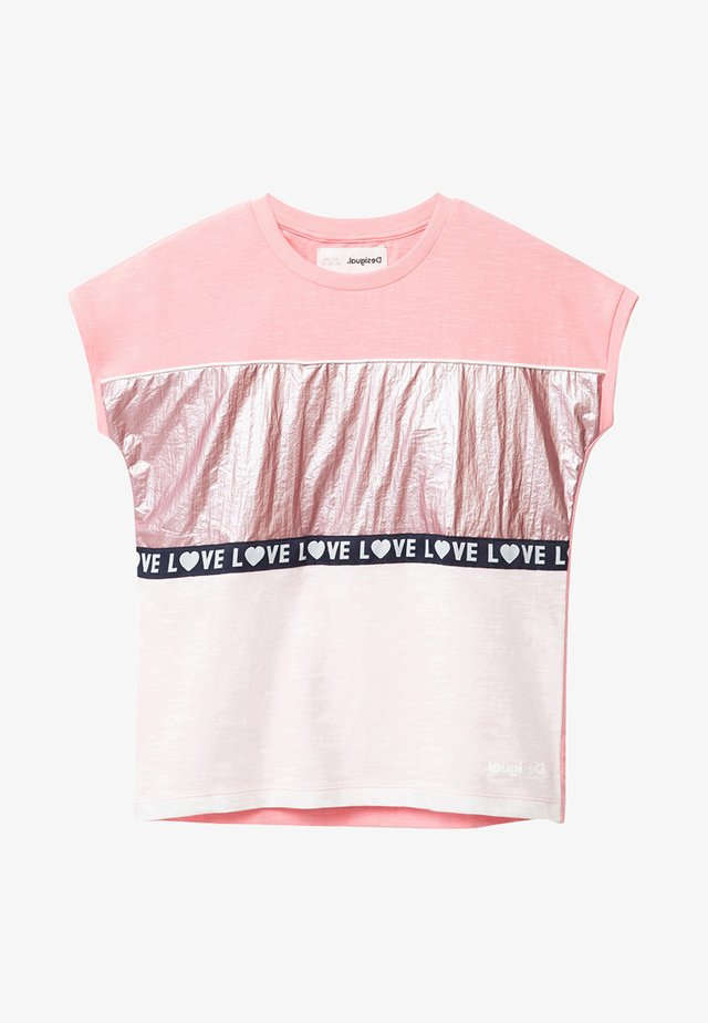 TS_GRACIA - T-shirt con stampa - red