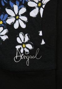 Desigual - IOWA - Huvtröja med dragkedja - black - 4