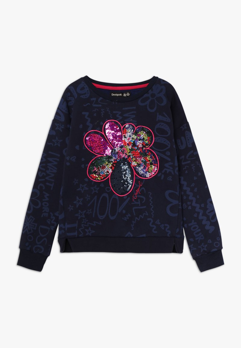 Desigual - KENTUCKY - Sweatshirt - navy