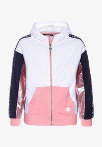 Desigual - FLORIDA - Zip-up hoodie - rosa helado - 0