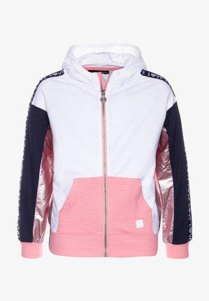 FLORIDA - Zip-up hoodie - rosa helado