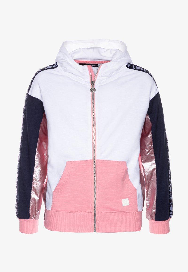 Desigual - FLORIDA - Zip-up hoodie - rosa helado