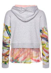 Desigual - ALASKA - Zip-up hoodie - gris vigore claro - 1