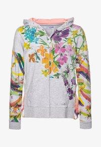 Desigual - ALASKA - Zip-up hoodie - gris vigore claro - 0