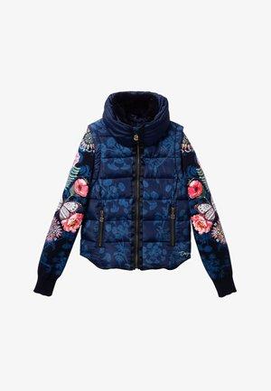 CHAQ_KIWI - Winter jacket - blue