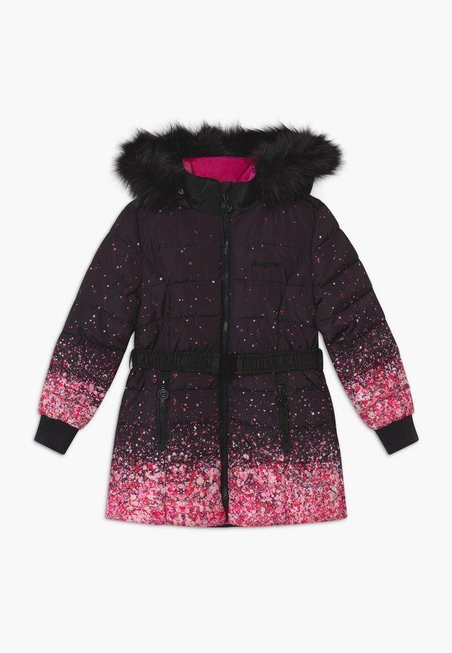 CHAQ AGUACATE - Płaszcz zimowy - black