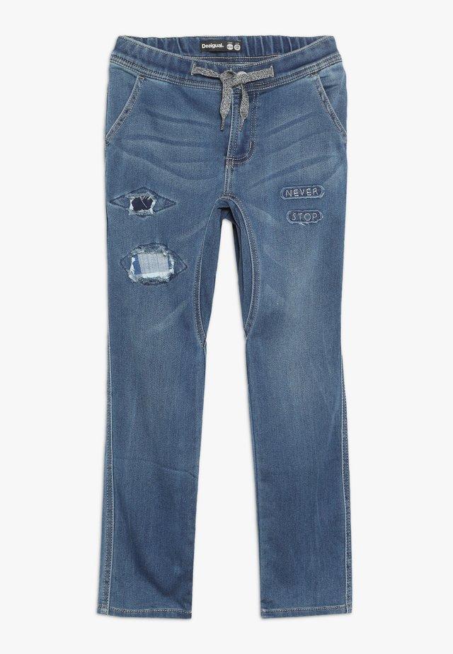 CASTRO - Jeansy Slim Fit - jeans vaquero
