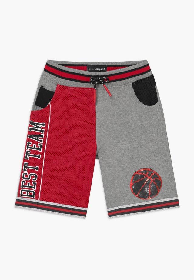 STREET - Spodnie treningowe - rojo