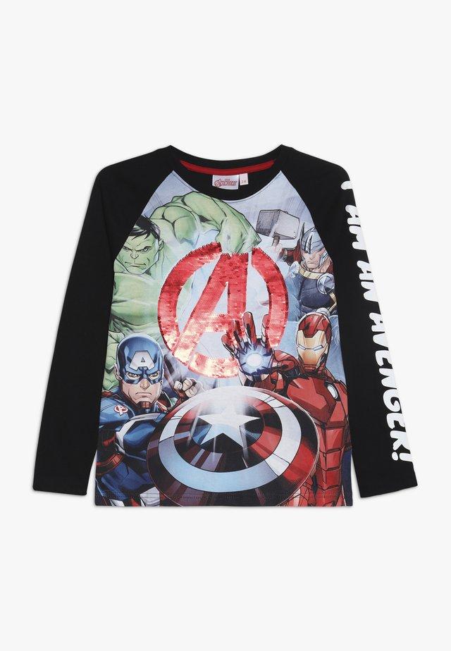 GEORGE - Camiseta de manga larga - black