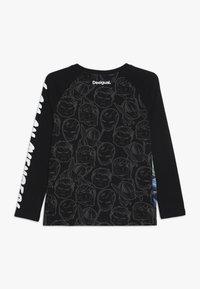 Desigual - GEORGE - Långärmad tröja - black - 1