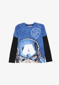 Desigual - JOHN - Långärmad tröja - diva blue - 2