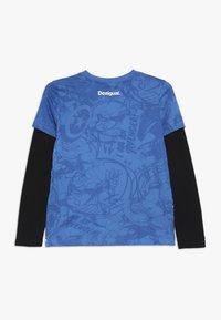 Desigual - JOHN - Långärmad tröja - diva blue - 1
