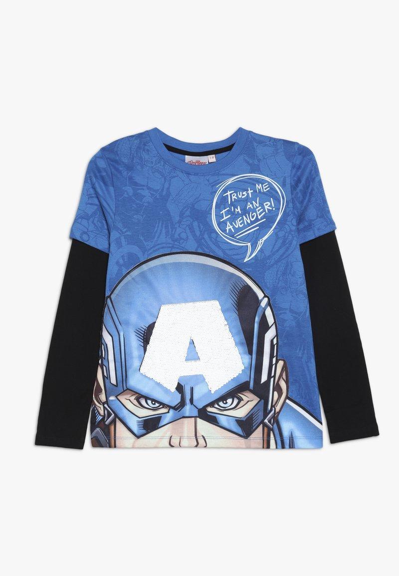 Desigual - JOHN - Långärmad tröja - diva blue