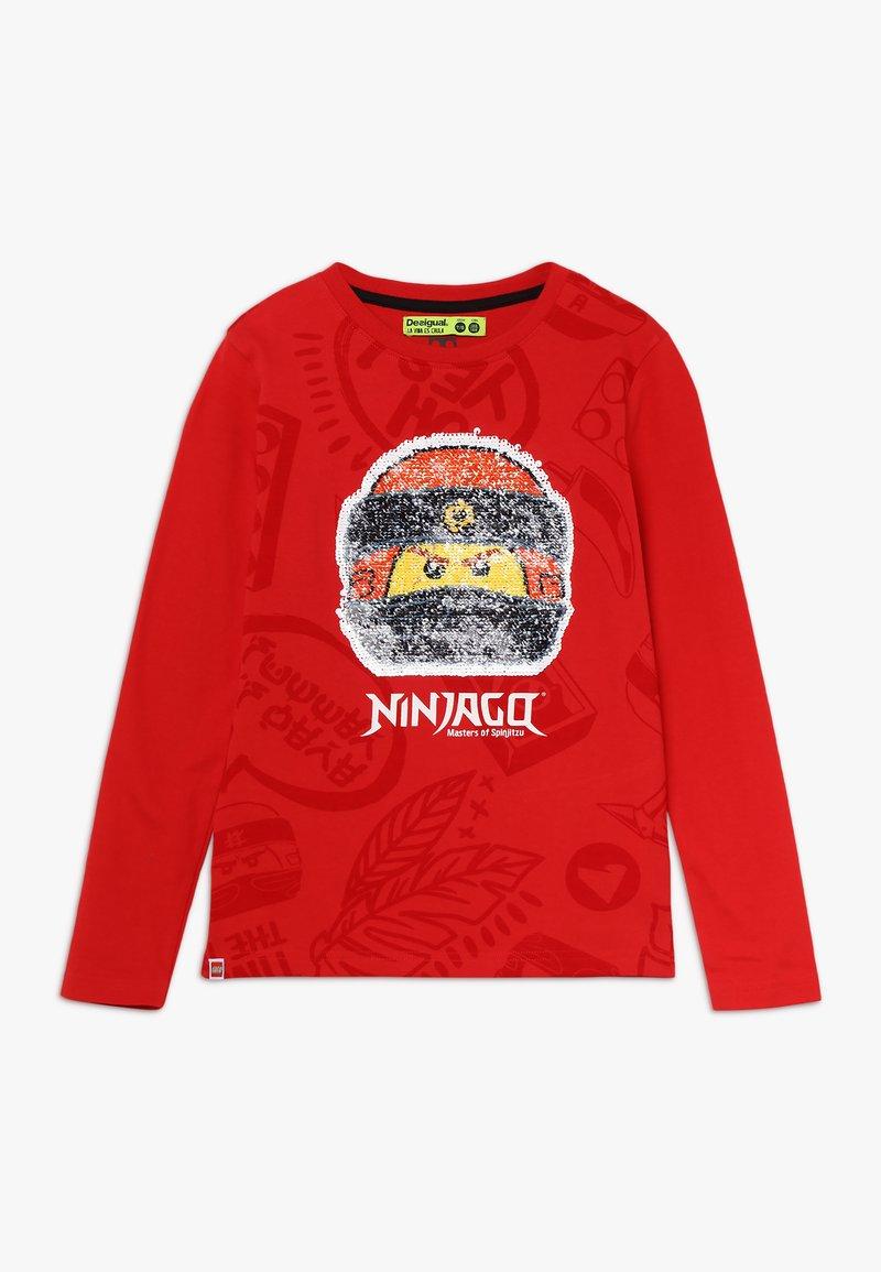 Desigual - NINJA - Langærmede T-shirts - rojo