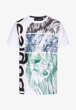 FREDDIE - T-shirt imprimé - blanco