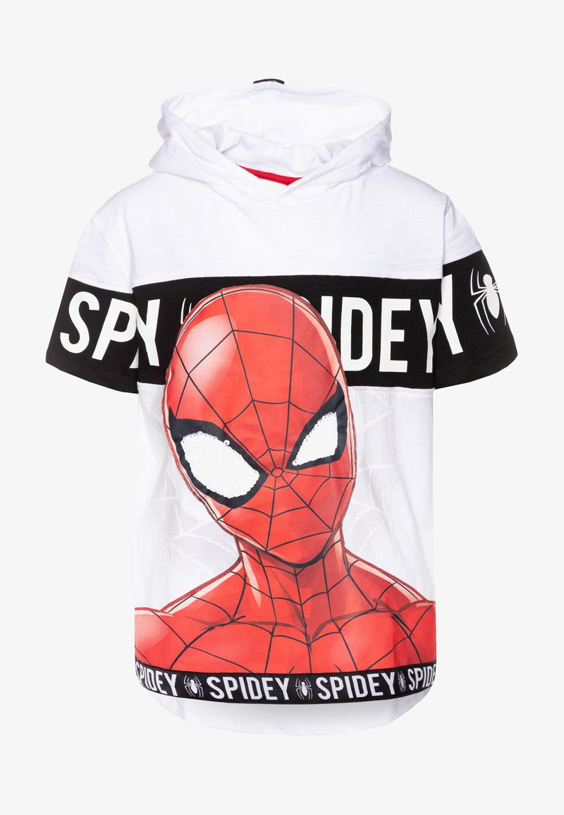 Desigual - HERO - T-shirt imprimé - blanco