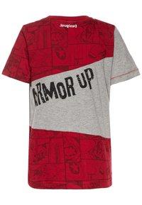 Desigual - JURGEN - Camiseta estampada - rojo - 1
