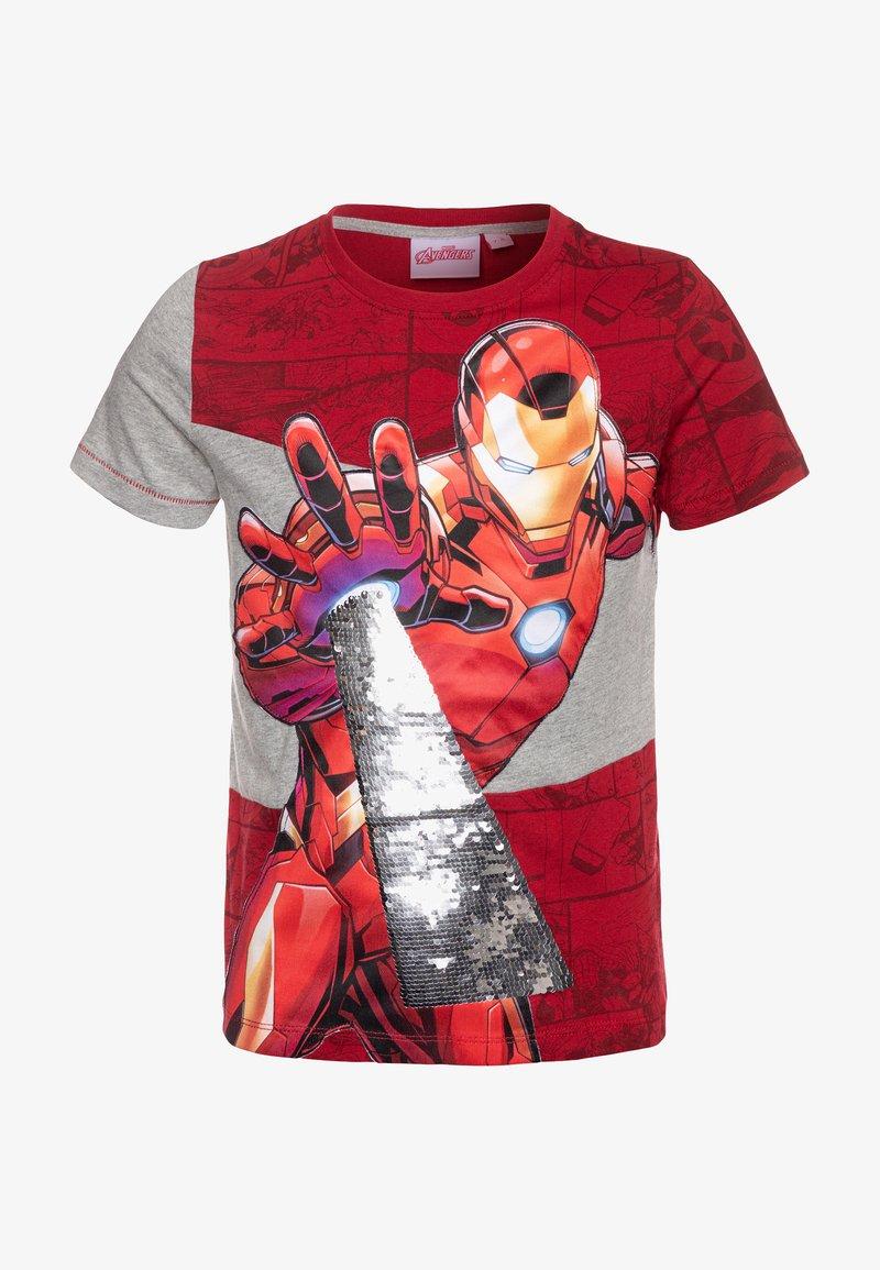 Desigual - JURGEN - Camiseta estampada - rojo
