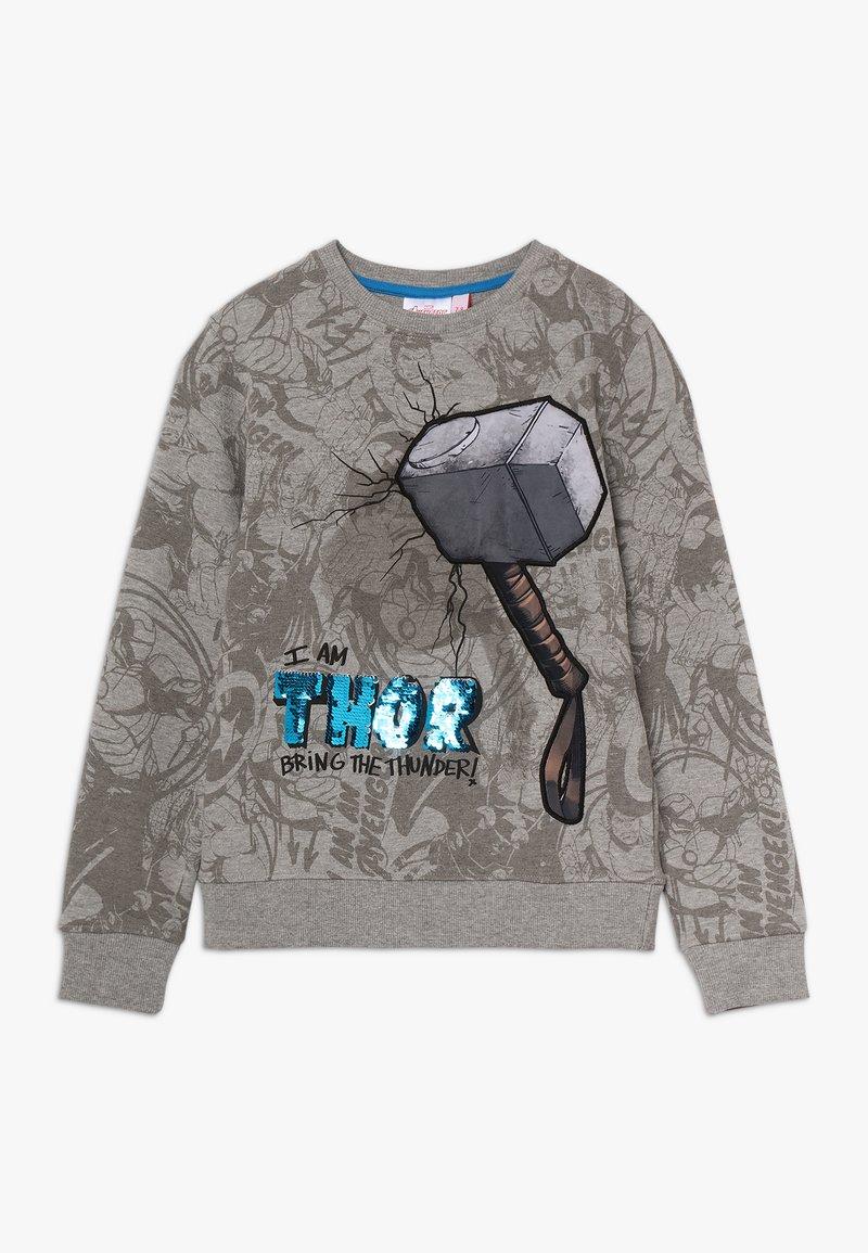 Desigual - MIGHTY - Sweater - gris vigore claro