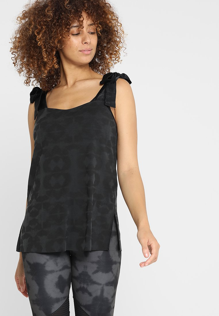 Desigual - CAMI ESPECIAL HINDI DANCE - Top - black