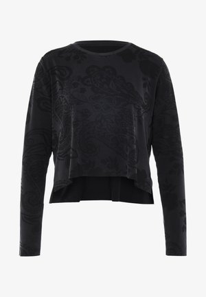 LONG SLEEVE ESSENTIAL - Maglietta a manica lunga - black