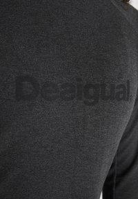 Desigual - LONG SLEEVE ESSENTIAL - Felpa - gris vigore oscuro - 6
