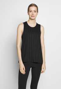 Desigual - TANK STUDIO - Top - black - 0