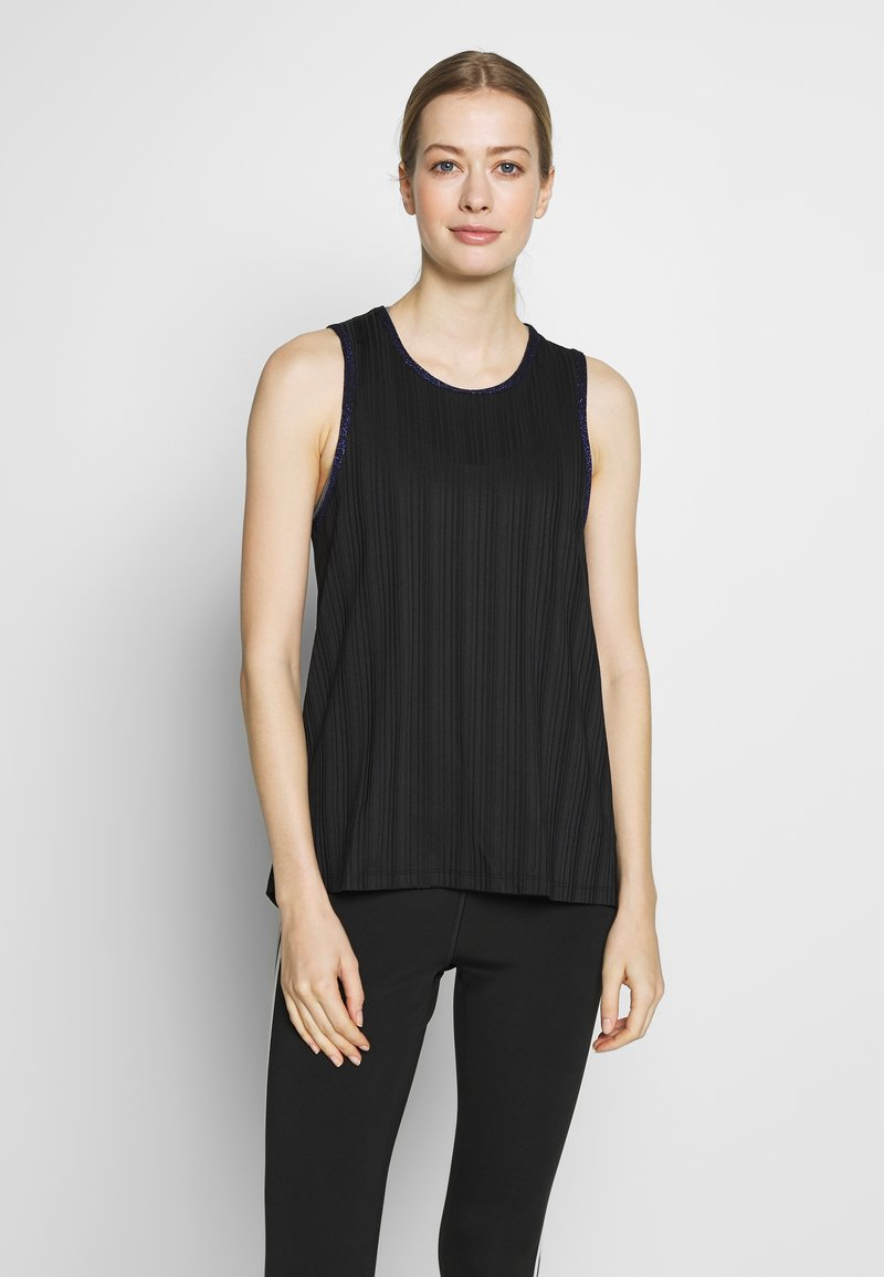 Desigual - TANK STUDIO - Top - black