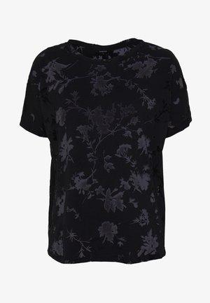 DEVORE - T-shirts med print - black